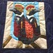 Zoo Holiday~ Penguin Detail~Quilt by Nancy S Brown & The Bulbs