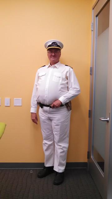 Cap'n Kev at Work