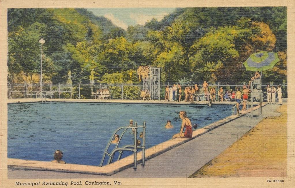 Municipal Swimming Pool Covington Virginia Flickr
