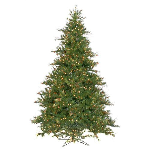 Vickerman mixed country pine full pre lit christmas tree