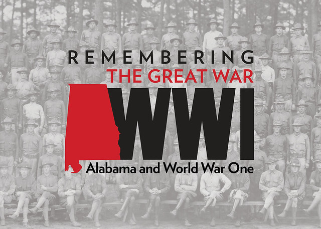 Logo for Remembering the Great War exhibit.