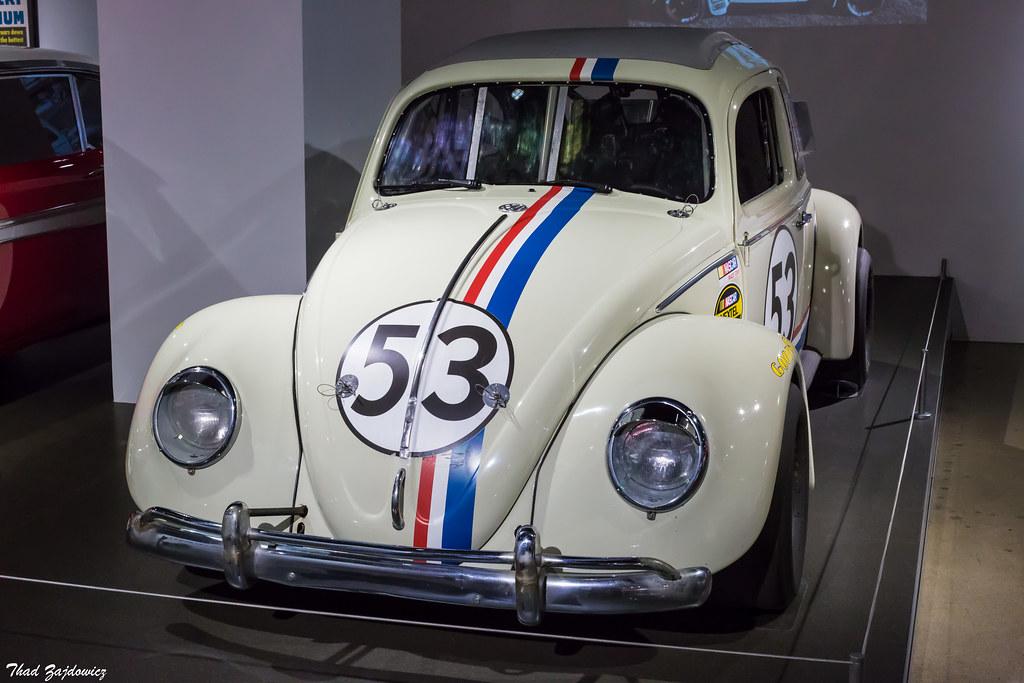 Herbie the Love Bug | This is the 1963 Volkswagen Beetle dri… | Flickr