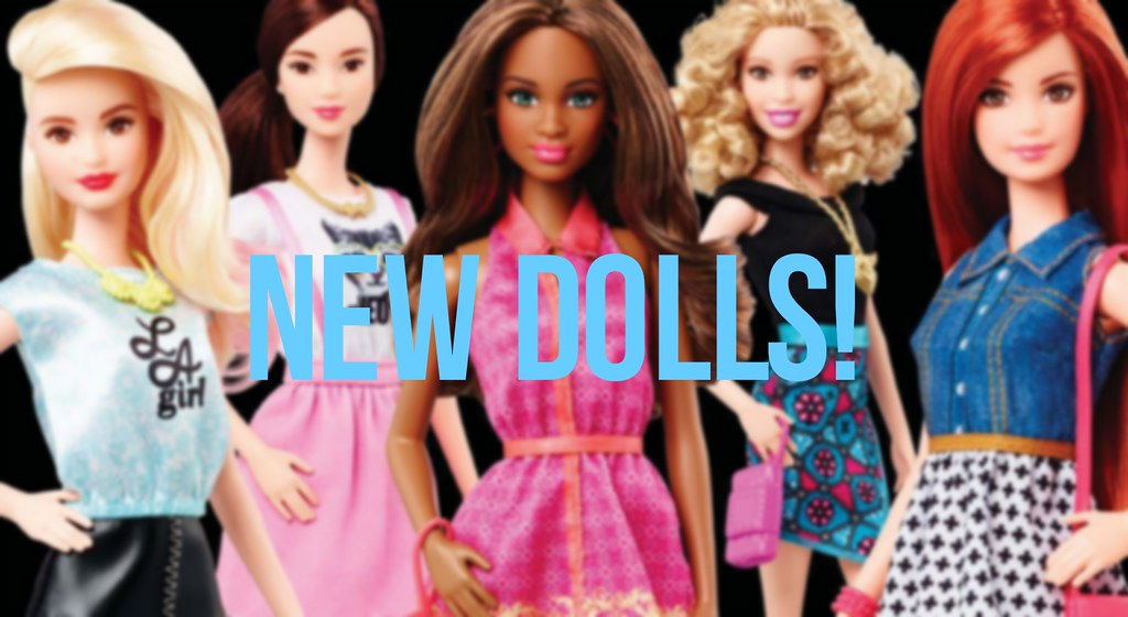 Barbie Fashionista 2015 NEW DOLLS OF