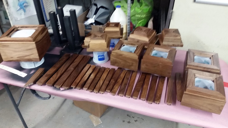 Wood Parts in Urethane