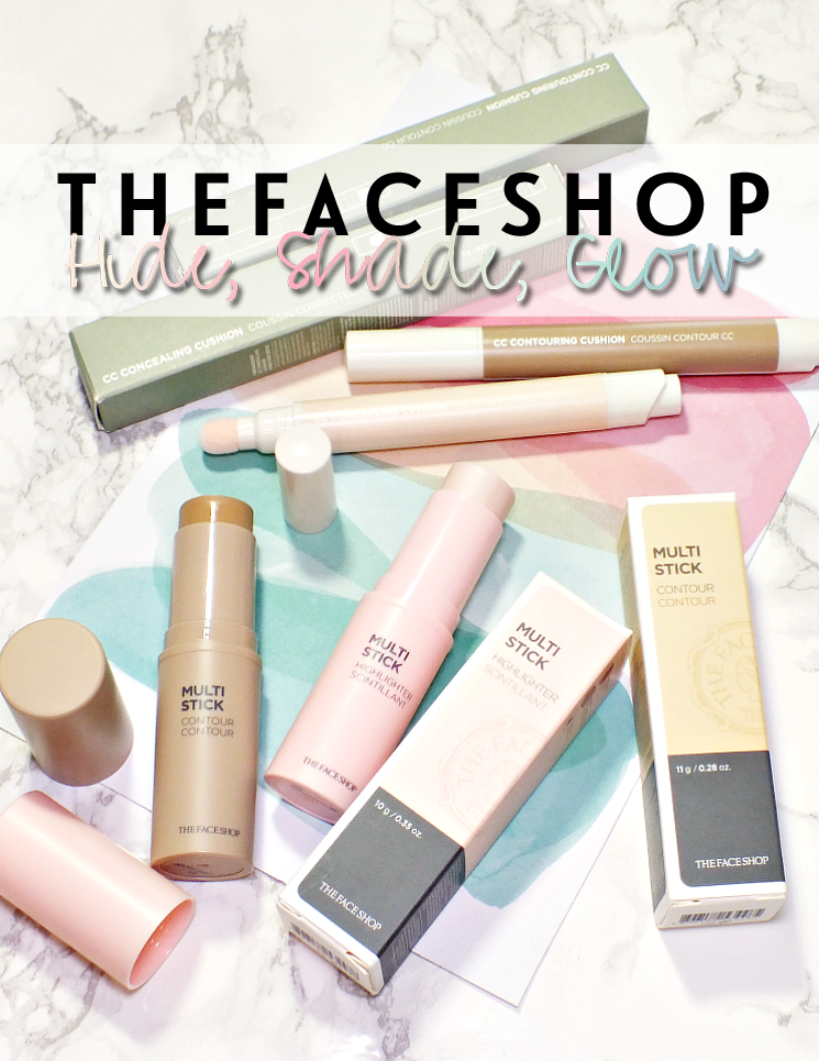 the face shop multi stick and cc cushion
