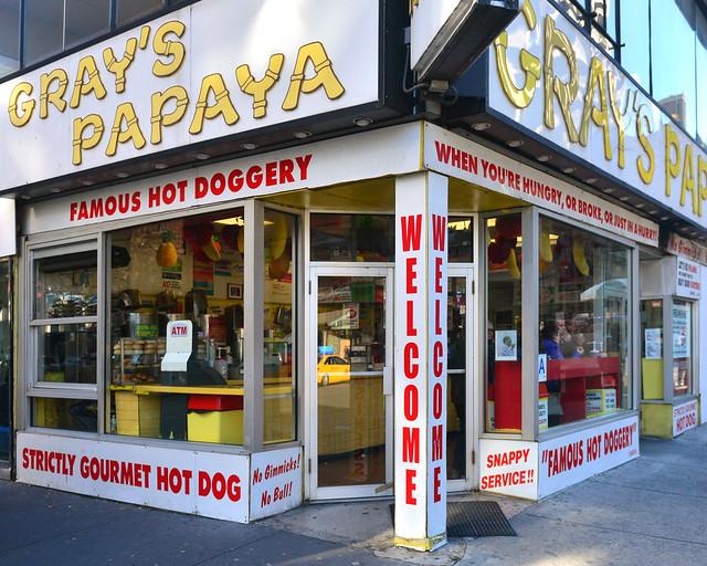 Gray's Papaya, los mejores perritos de Nueva York