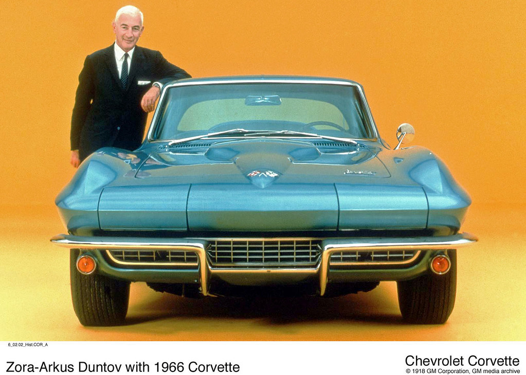 1966 Chevrolet Corvette 427 Coupe With Zora Arkus Duntov
