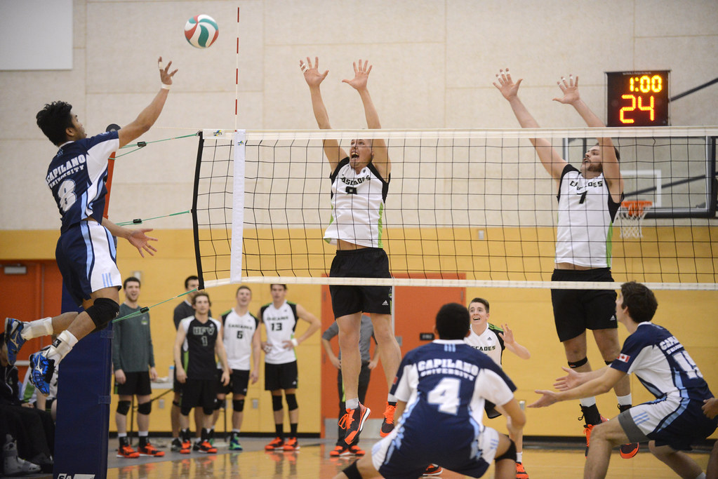 UFV men's volleyball vs Cap Nov 7 2014 62 | University of the Fraser Valley | Flickr -Volleyball- vocabulary