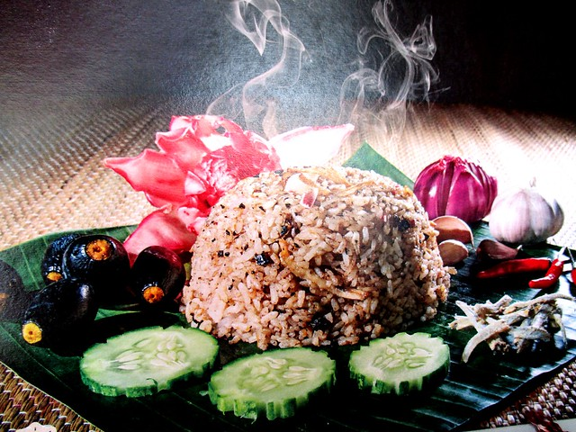 Anak Borneo dabai fried rice