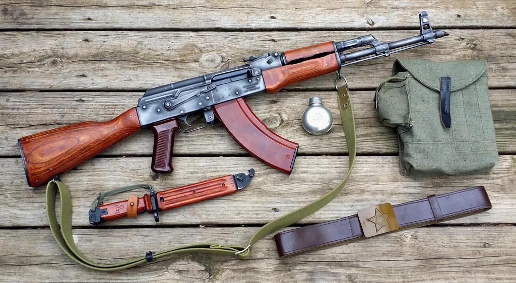 Romanian WASR-10 AKM AK-47 Rifle