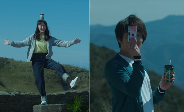小出恵介、多部未華子が大自然に囲まれた高原をドライブ!「マウントレーニア」人気シリーズCMの第3弾公開!
