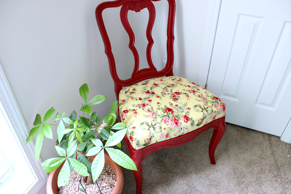 Reupholster A Dining Room Chair With A Upper Padded Area
