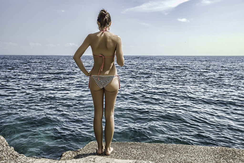 новые фото девушек на море частное