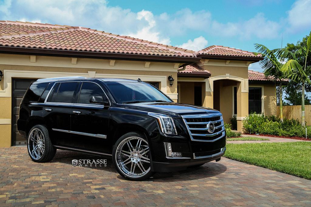 Cadillac Escalade Black Rims >> Strasse Wheels 2015 Cadillac Escalade   S8 Signature Series …   Flickr