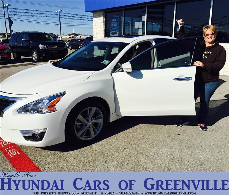 Hyundai Greenville Sc: Congratulations To Ruth Harris On Your #Nissan #Altima Pur