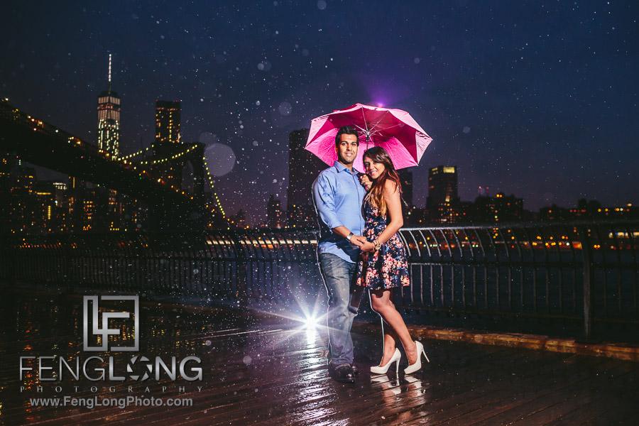 Manisha & Ali | Central Park Brooklyn Bridge | New York City Indian Wedding Photography