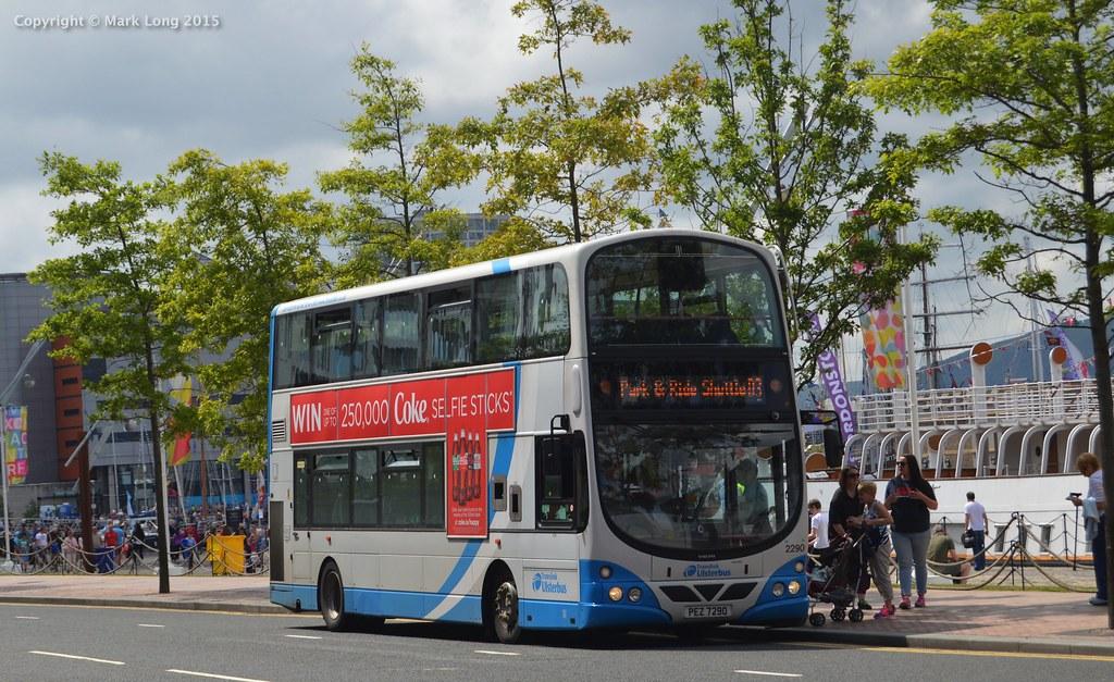 Ulsterbus 2290 | Ulsterbus (Larne) 2290 Chasis/Bodywork: Vol… | Flickr