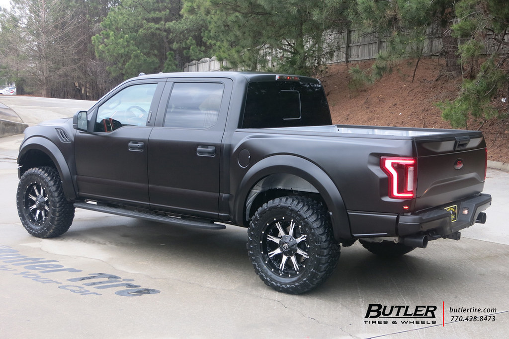 2017 ford raptor with 20in fuel nutz wheels and toyo open flickr. Black Bedroom Furniture Sets. Home Design Ideas