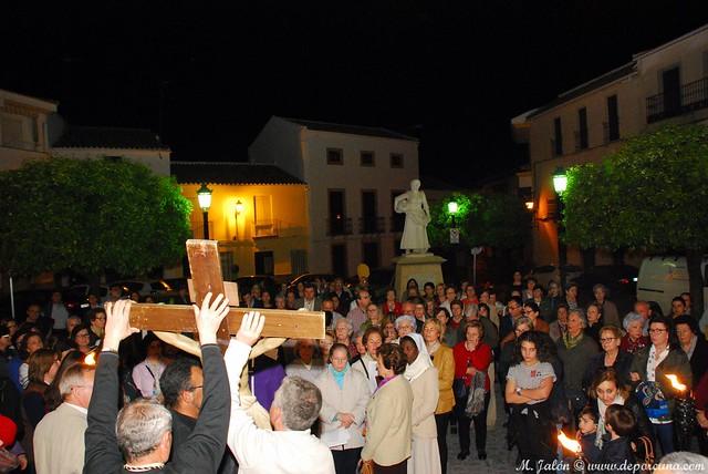 Vía Crucis. Foto MJJ.