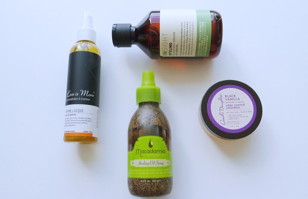 Current Hair Styling Go-To's