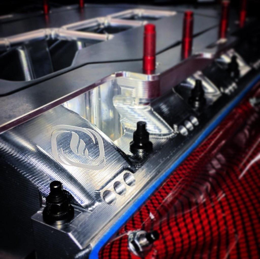 Frankenstein Heads & Low Pro Billet Manifold - 427 LSX