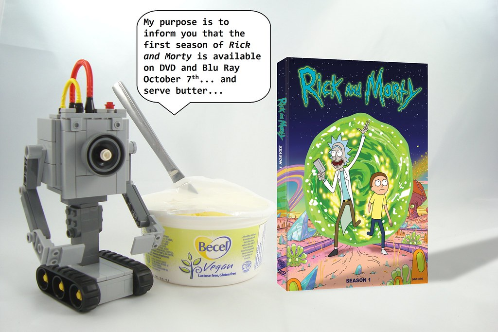 Rick And Morty Exploit The Fans For Art DVD Contest Entry