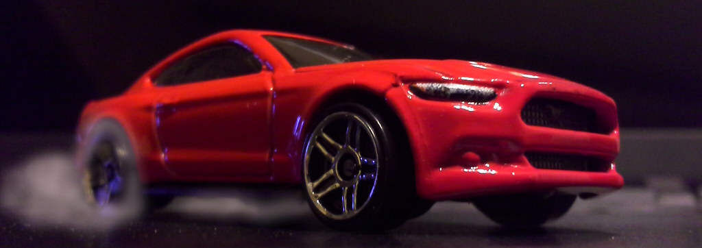 Mustang Mach 2 >> Hot Wheels 2015 Ford Mustang GT | A front view my new Hot Wh… | Flickr