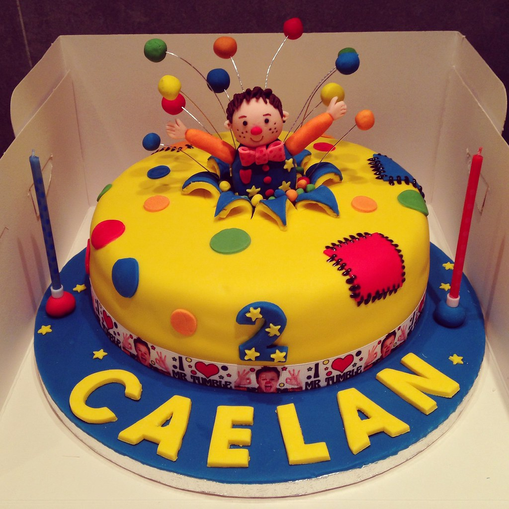 Cbeebies Birthday Cake