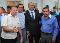 Vicepresidente Jorge Glas se  reúne con autoridades de Manabí
