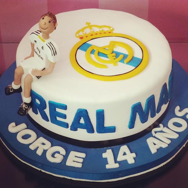 Cake Real Madrid Ronaldo