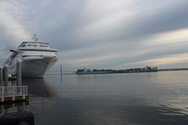 Carnival Cruise Ship Out Of Charleston Sc Awesome  Punchaoscom