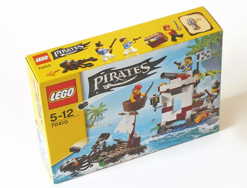 LEGO Pirates 70410 Soldiers Outpost box01
