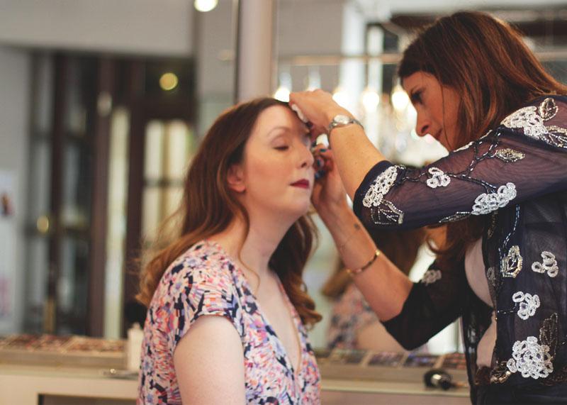 Bridal Make Up Trial at A La Carte London, Bumpkin Betty