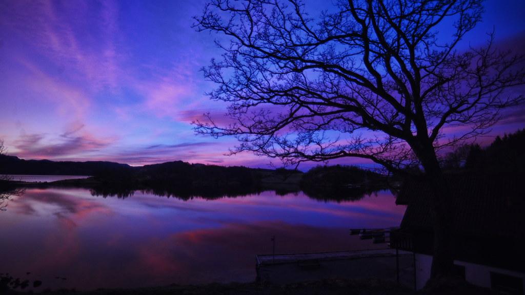 Sunrise in Fogn