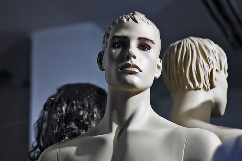 Male mannequin with light skin in store display | by Horia Varlan