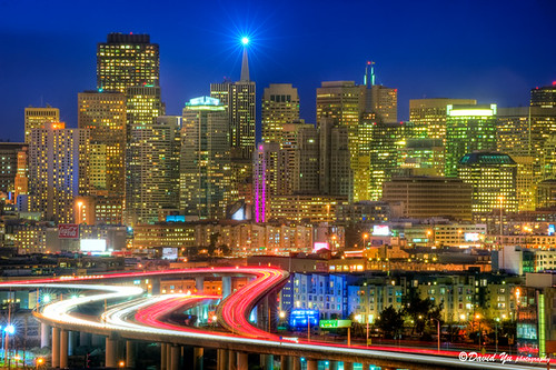 Downtown Cityscape San Francisco | by davidyuweb