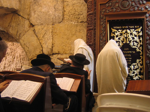 The synagogue in the Western Wall tunnels | by RahelSharon