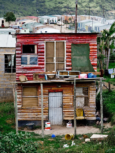 Nompumulelo South Africa Double Story Shack A Double