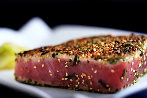 Day 70/365 - Seared Ahi | by allykatimages
