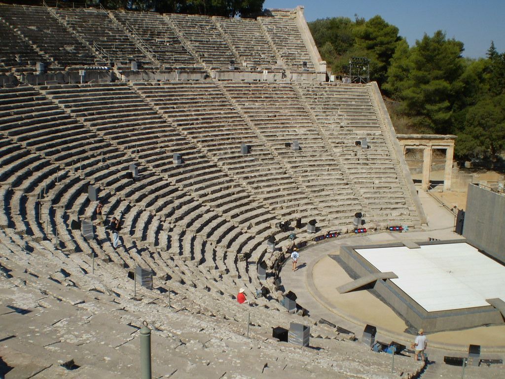 Anfiteatro de Epidauro - Grécia