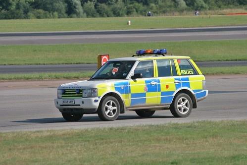 Range Rover of Greater Manchester Police at Manchester Airport | by Ian Press Photography
