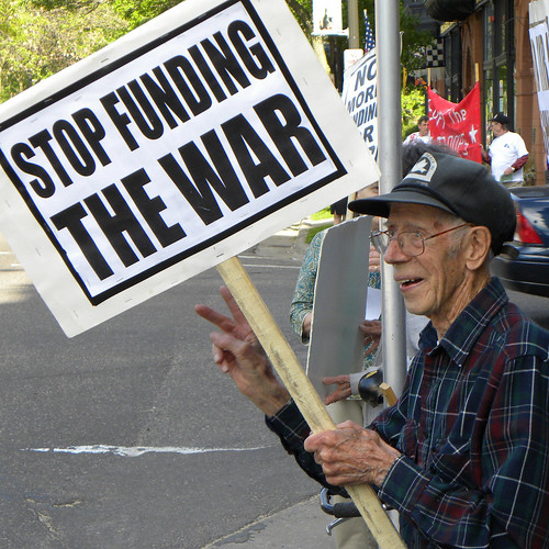 Protest against war funding at the office of Representative McCollum | by Fibonacci Blue