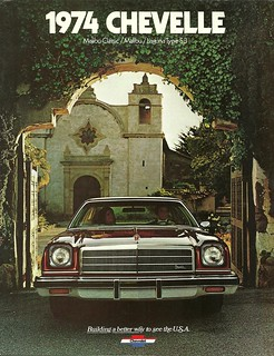 1974 Chevrolet Chevelle brochure cover | by Hugo-90