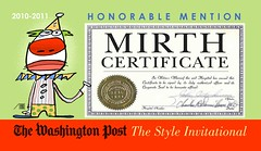 Mirth Certificate magnet | by the-empress
