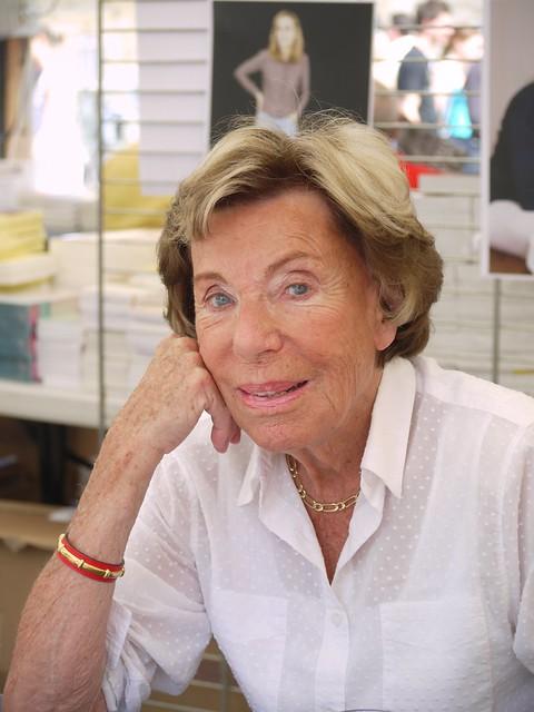 Benoite Groult - Comédie du Livre 2010 - P1390493