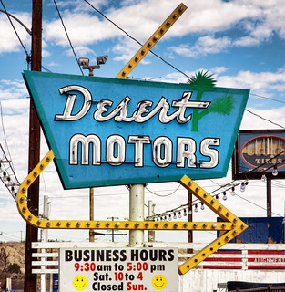 Desert Motors | by Pete Zarria