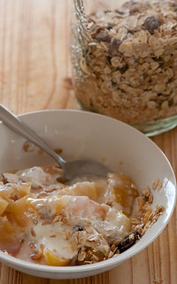 stewed apples & muesli | by jules:stonesoup