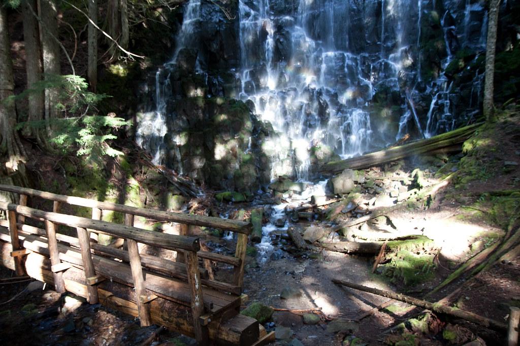 Sparkling Ramona Waterfalls