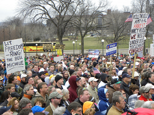 Tea Party rally to stop the 2010 health care reform bill | by Fibonacci Blue