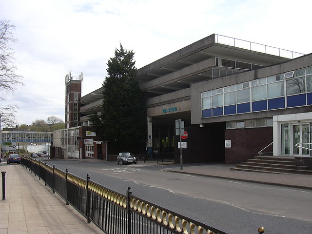 The Old Bus Station, Police Station and Multi Storey Car Park, Nelson
